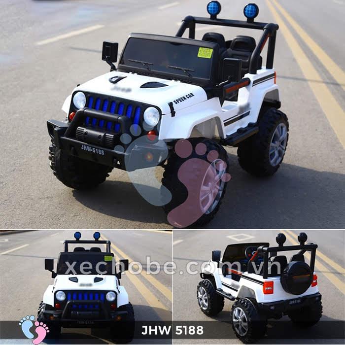 Xe ô tô điện 4 động cơ JHW5188 6