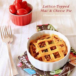 Lattice-Topped Mac n Cheese