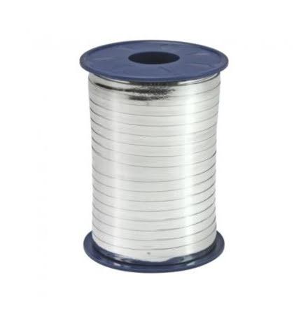 Ballongsnöre, metallic silver 250 m x 5mm