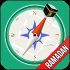 Qibla Compass - Prayer Times, Azan & Ramadan 2018 icon