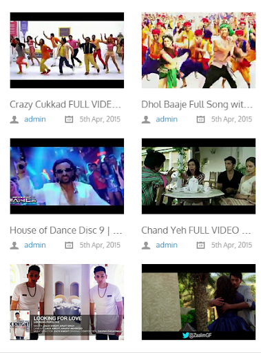Hindi Video Songs HD