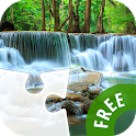 Puzzle with Waterfalls icon