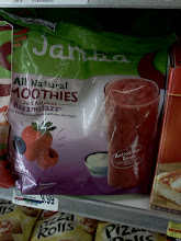 Photo: As we walked to get ice cream my daughter spotted a really big bag of Jamba Juice smoothies.
