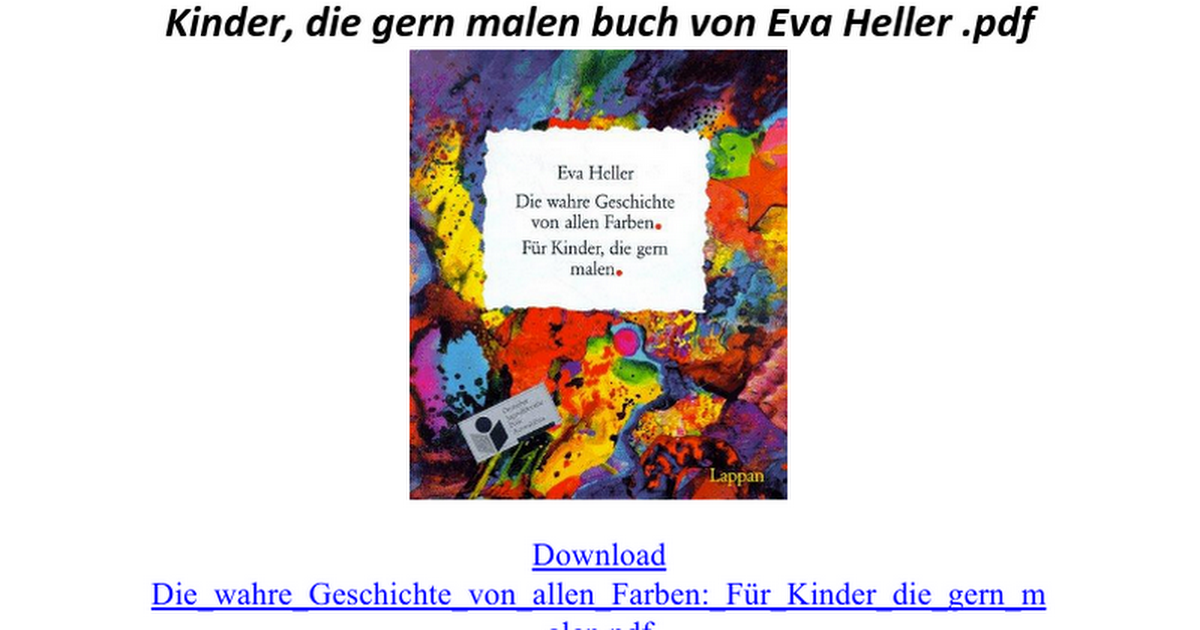 Schön Wahre Farben Bücher Fotos - Ideen färben - blsbooks.com