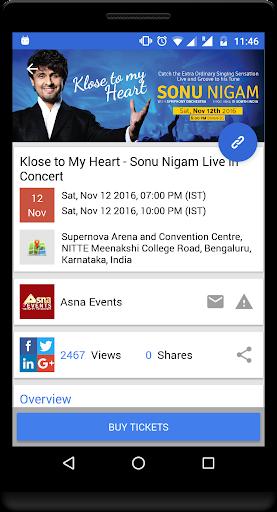 玩免費遊戲APP|下載Goeventz - Best Events App app不用錢|硬是要APP