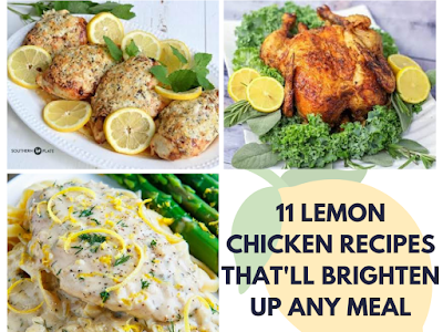 11 Lemon Chicken Recipes That'll Brighten Up Any Meal