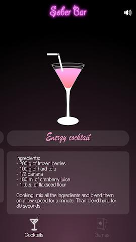 android Sober Bar Screenshot 2
