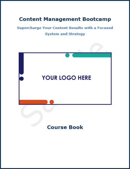 Content Management Bootcamp - Course Book Sample Front Cover