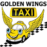Golden Wings Taxi Icon