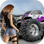 Monster Truck Race 3D Apk
