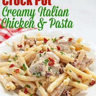 Crock Pot Creamy Italian Chicken.