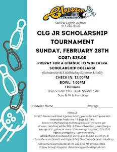 Jr Scholarship Tournament