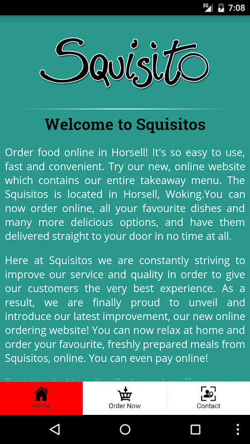 Squisitos- screenshot