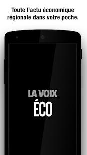 LaVoixEco : Economie régionale - náhled
