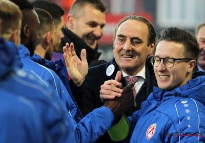 """Yves Vanderhaeghe et Courtrai sont à deux matchs de la C3 : """"Devenir uneéquipe historique"""""""