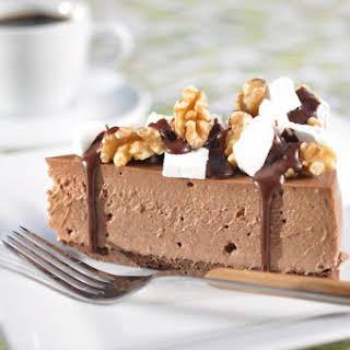 Rocky Road Chocolate Cheesecake.