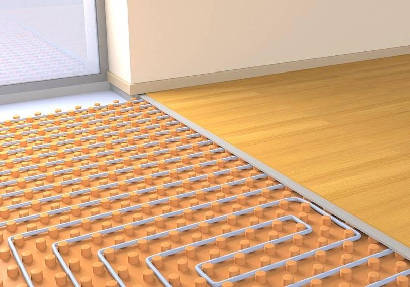 Układanie ogrzewania podłogowego