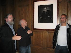 Photo: Jim Des Rivieres, Kai Maetzel, Erich Gamma and Churchill