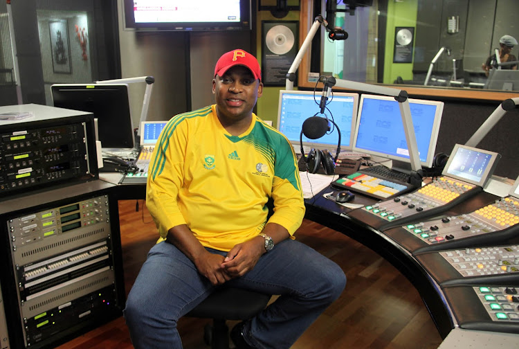 Radio and Television personality Robert Marawa.