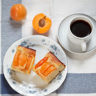 Apricot And Almond Cake.