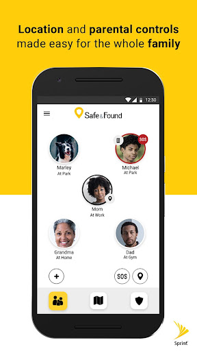 Screenshot for Safe & Found in United States Play Store