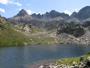 Photo: Val d'Aran: lac Naut i serra de Saboredo