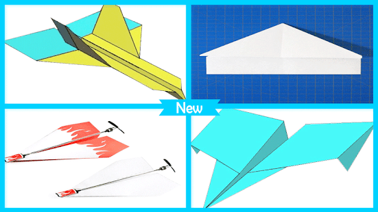 Paper Airplanes Folding - náhled