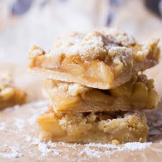 Apple Pie Traybake.