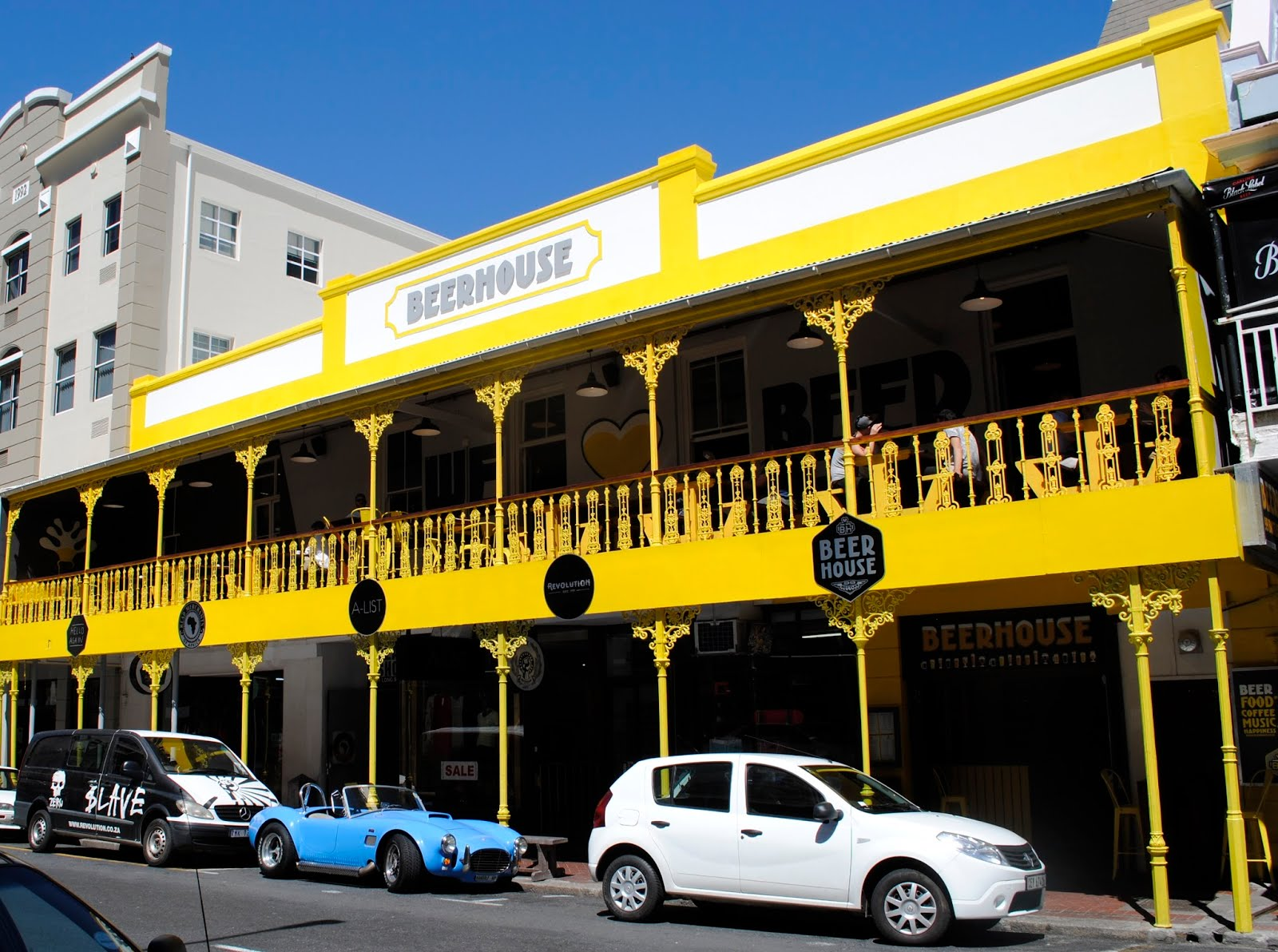 Beerhouse from outside