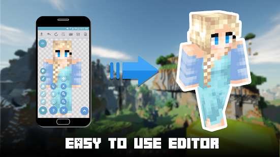 App MCPE Skin World for Minecraft APK for Windows Phone