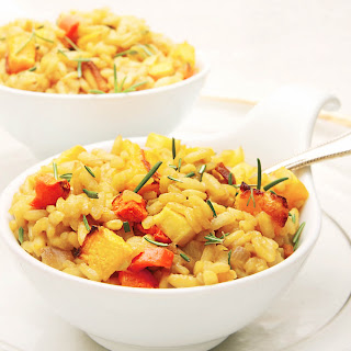 Winter Vegetable Risotto.
