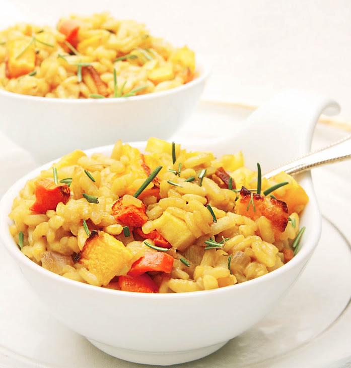 Winter Vegetable Risotto Recipe