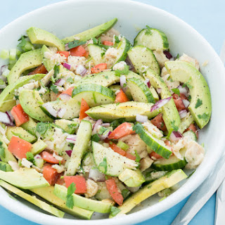 Tuna and Avocado Salad.
