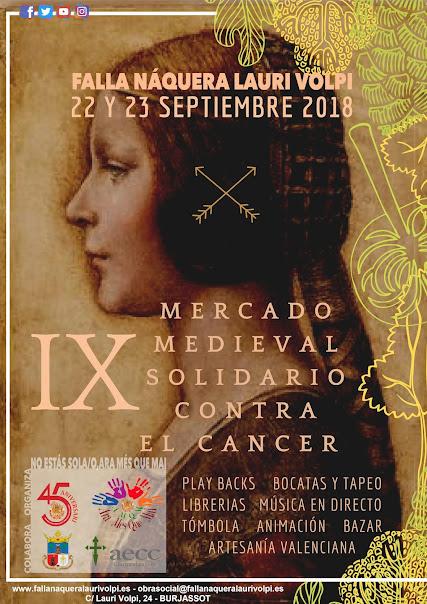 IX Mercado Medieval Solidario. Falla Naquera - Lauri Volpi.