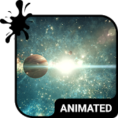 Space Voyage Animated Keyboard