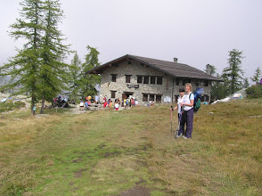 Photo: Rifugio Barbustel  2200 m.