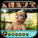 Janmashtami Video Maker With Music icon