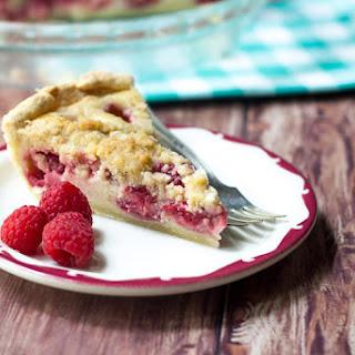 Raspberries & Cream Pie
