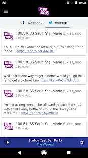 KiSS 100.5 Sault Ste. Marie- screenshot thumbnail
