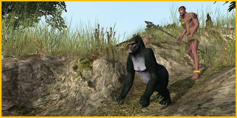Crazy Gorilla Simulator - screenshot