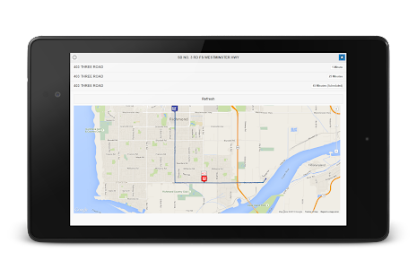 TransLink Bus Tracker- screenshot thumbnail