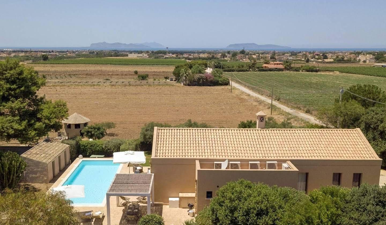 Villa avec jardin et terrasse Guarrato