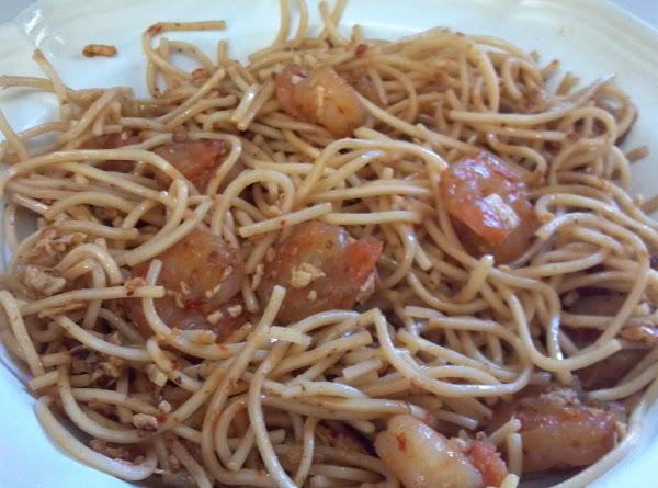 Spicy Thai Noodles With Shrimp Recipe
