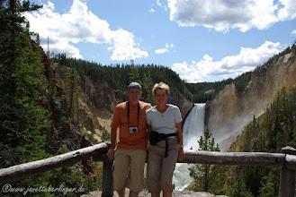 Photo: Lower Yellowstone Fall