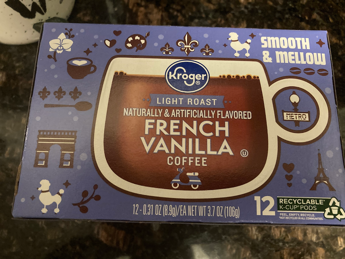 French Vanilla K Cup Coffee