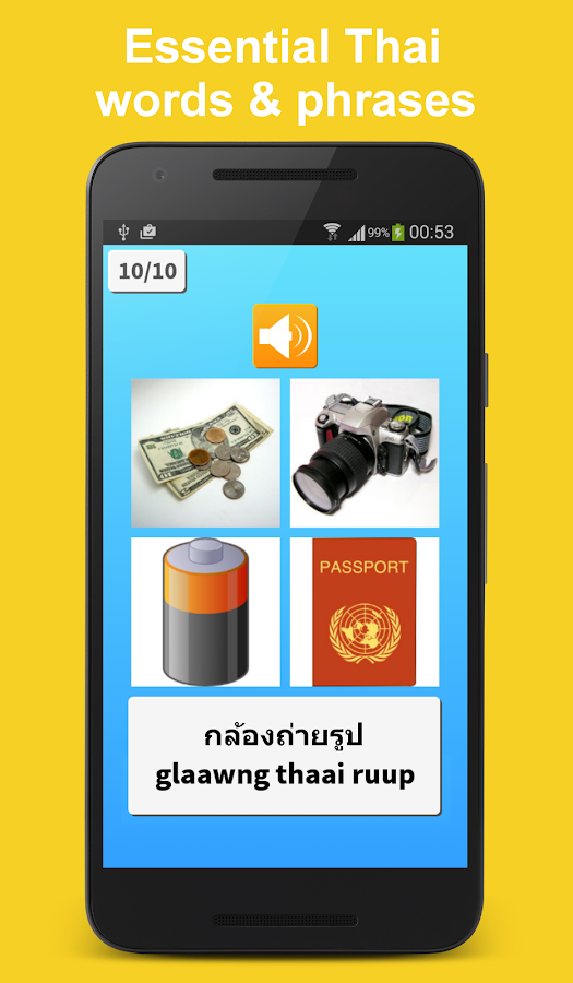 Learn to read thai words and phrases