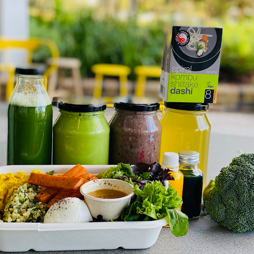 Detox Pack 2 - Tonics, Smoothies, Sprouted Buckwheat Salad & Broth + Organic Greens
