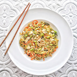 Zoodle and Carrot Lo Mein Recipe