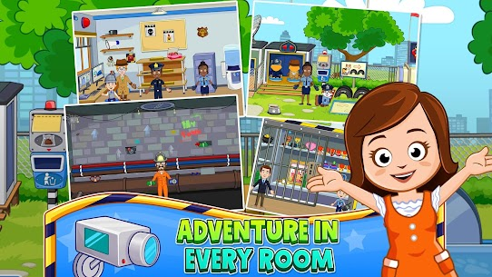 My Town : Police Station Pretend games for Kids 5