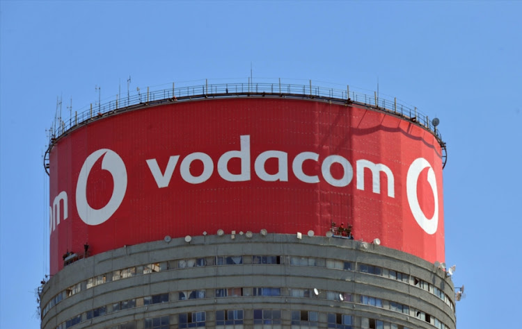 Vodacom branding on the Ponte Building in Hilbrow, Johannesburg. Picture: GALLO IMAGES/FOTO24/FELIX DLANGAMANDLA